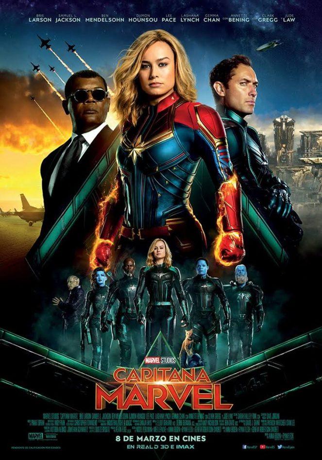 Capitana Marvel arrasate