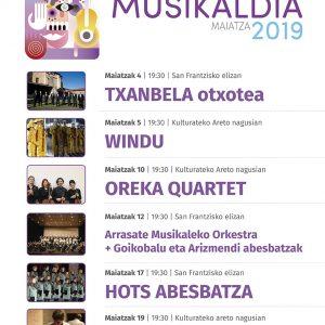 XV. Musikaldia